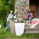 Напольное кашпо для цветов в Ачинске
