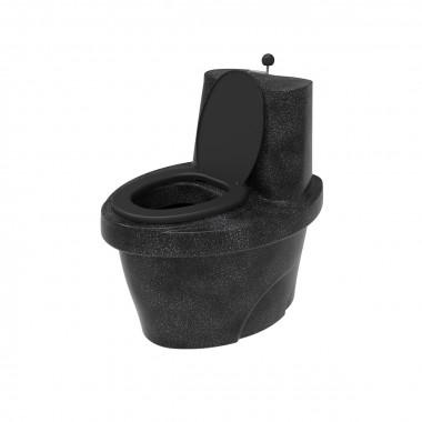 """Торфяной туалет """"Rostok"""" черный гранит"""