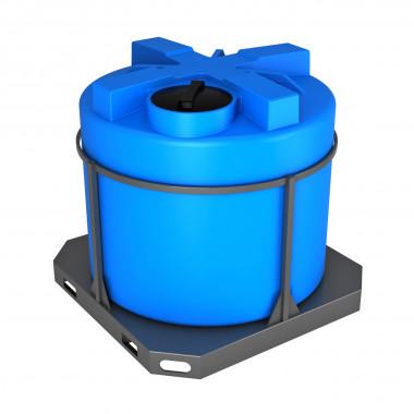 Емкость серии Т на 2000 литров в обрешетке