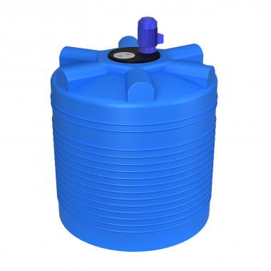 Емкость ЭВЛ 1000л с турбинной мешалкой