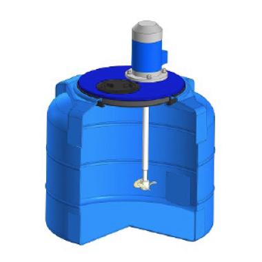 Емкость T 100л c пропеллерной мешалкой