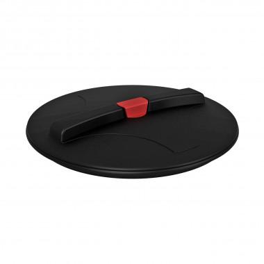 Крышка для емкости D620мм резьбовая c дыхательным клапаном пластик