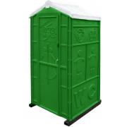 "Мобильная туалетная кабина ""Стандарт Плюс"" в разборе зеленая"